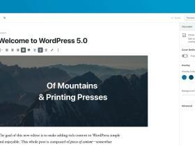 一句代码禁用WordPress 5.0xGutenberg(古腾堡) 编辑器