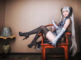 缘之空性感黑丝裸足春日野穹cosplay高清图片 希望大家可以喜欢