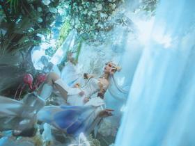 美如画的王者荣耀貂蝉Cosplay图片 窈窕大长腿果然是很美