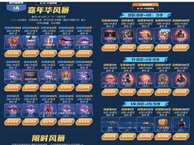 CF端游嘉年华风暴活动 玩一局游戏免费领取两件神器装备等