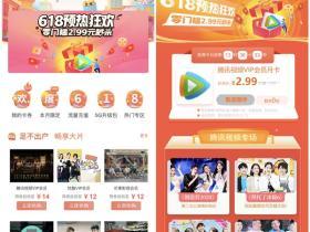 2.99元每日限量购买1个月腾讯视频会员活动 仅限中国联通参与