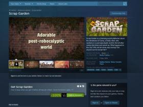 Steam免费领取Scrap Garden(拾荒花园)游戏