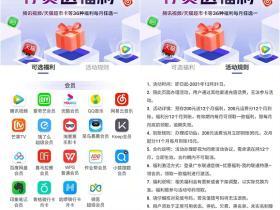 广东联通预存200元话费活动结束 送36种福利每月任选其一