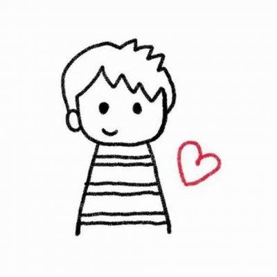 2019手绘版卡通情侣头像 一对一对的超可爱哦